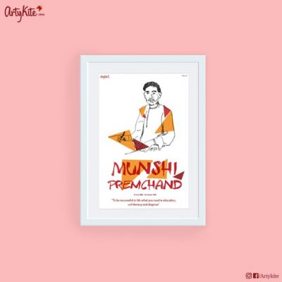 Need-Education-Not-Literacy-and-Degrees-Munshi-Premchand-poster-Hindi-Literature