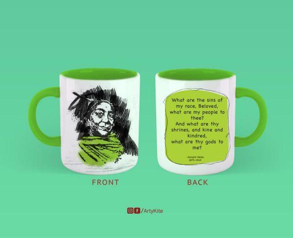 What-Are-Thy-Gods-To-Me-Sarojini-Naidu-Mug