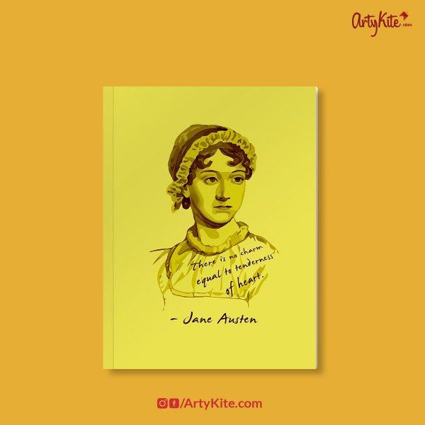 Jane-Austen-Notebook Funky-Notebooks Artykite