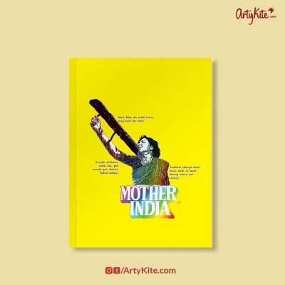 Mother-India-Notebook|Funky-Notebooks|Artykite
