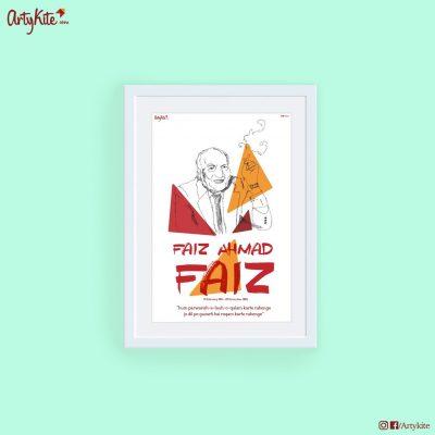 Jo-Dil-Pe-Guzarti-Hai|Faiz-Ahmed-Faiz-Poster|Artykite